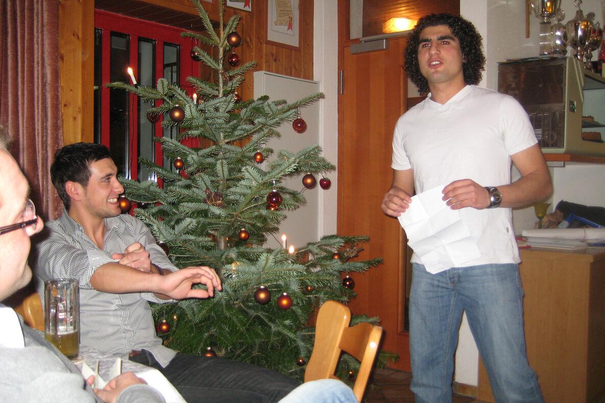 Rede Weihnachtsfeier Fussballverein.Aktive 2010 Fußballverein Neufra Donau 1954 E V
